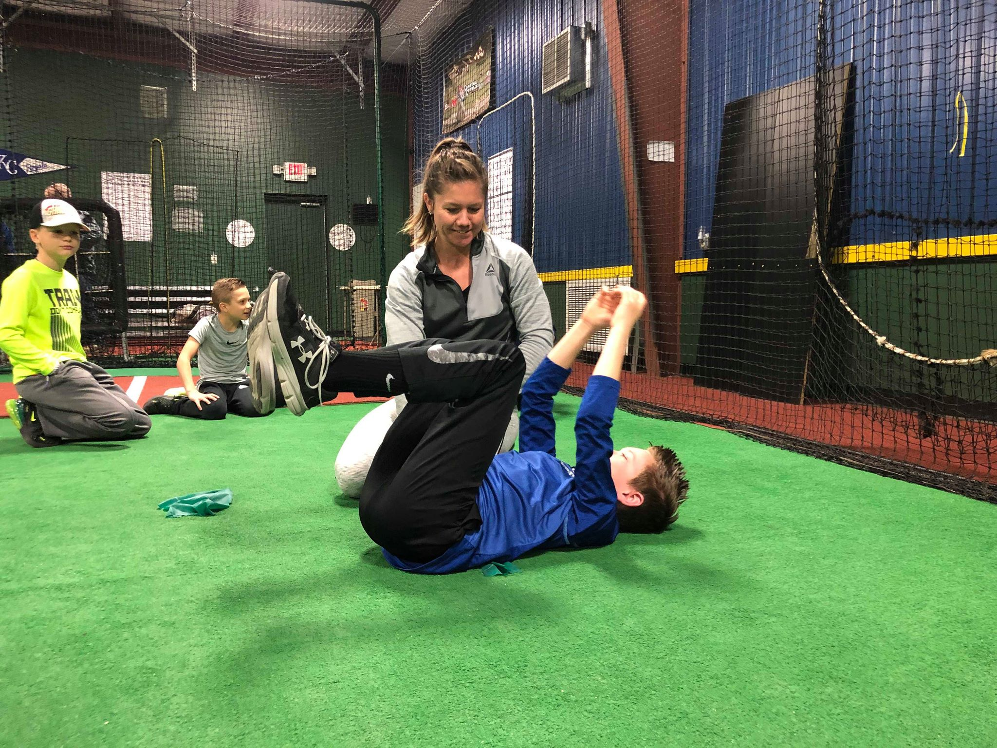 core stability for throwing athlete