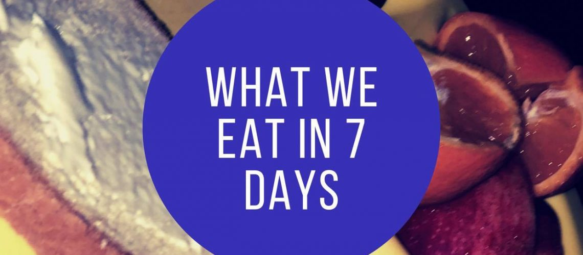 what we eat promo